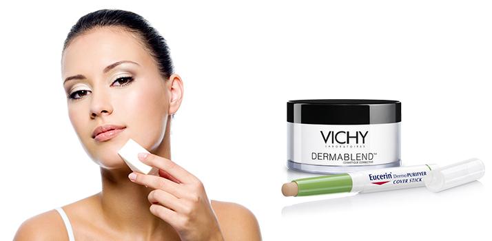 Na závěr líčení zafixujte pudrem Vichy Dermablend ccdf73398e1
