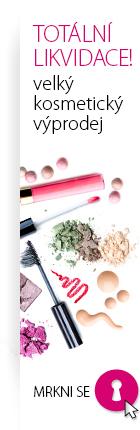 kosmetický výprodej