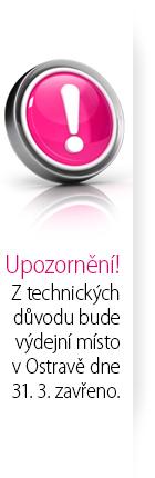 Ostrava zavřeno