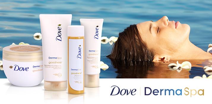 kosmetyki Dove DermaSpa