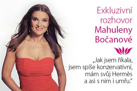 ROZHOVOR: Mahulena Bočanová exkluzivně pro blog parfums.cz