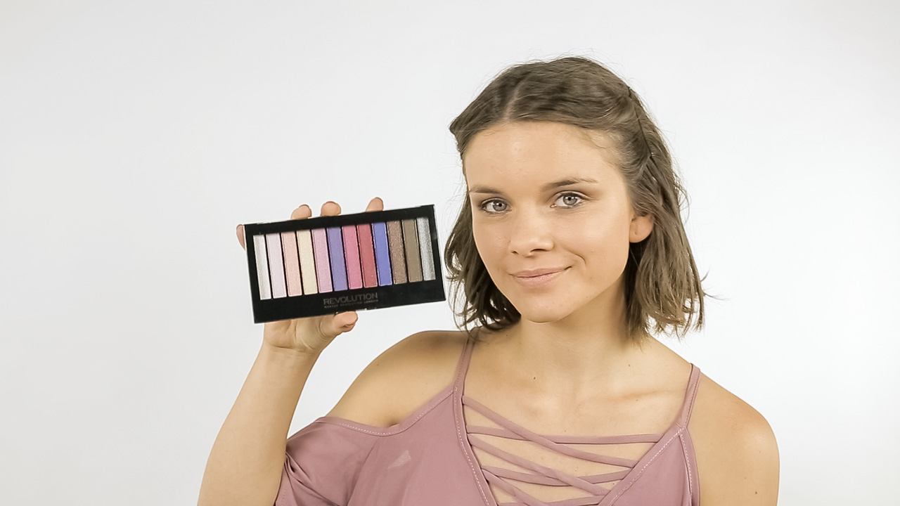 Pigmentované stíny Makeup Revolution