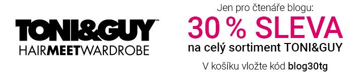 TONI&GUY SLEVA 30 %