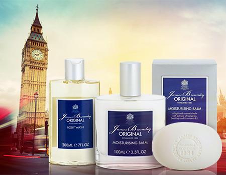 NOVINKA: James Bronnley - anglická kosmetika pro pravé gentlemany