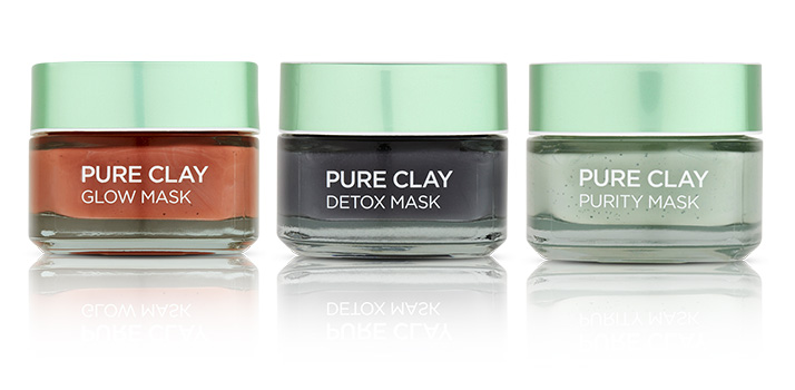 Maska Pure Clay detox