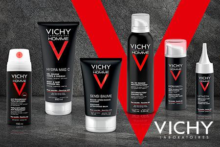 Vichy Homme: to nejlepší pro mužskou pleť