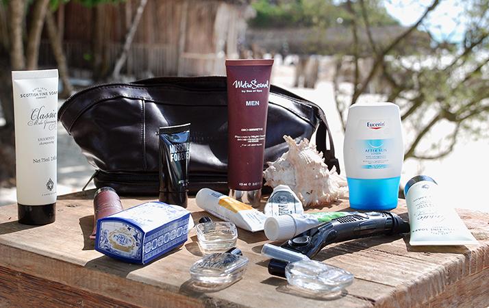 męska kosmetyczka podróżna