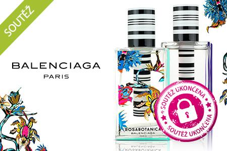 SOUTĚŽ o jednu znejoriginálnějších vůní – Balenciaga Florabotanica
