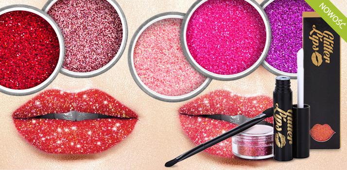 glitter lips nowosc