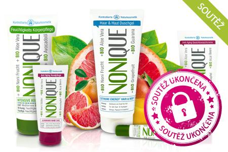 SOUTĚŽ: Důvěřujte přírodě místo chemie! Vyhrajte balíček bio kosmetiky Nonique.