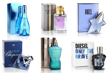 parfemy kolaz vodnar