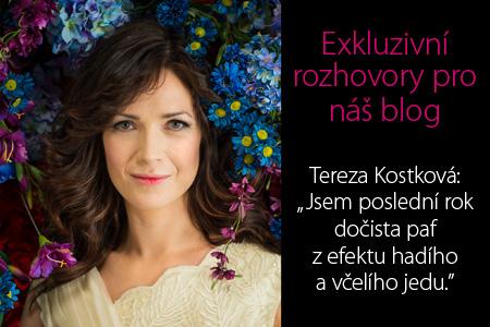 ROZHOVOR: Tereza Kostková exkluzivně pro blog parfums.cz