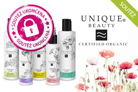SOUTĚŽ: Unikátní bio kosmetiku Unique musíte vyzkoušet! Vyhrajte balíček pěti produktů vnaší soutěži…