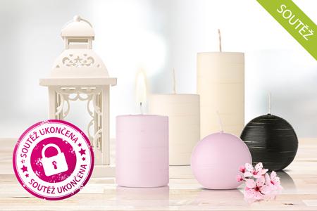 NOVINKA: Luxusní svíčky, které nikde jinde než u nás nekoupíte