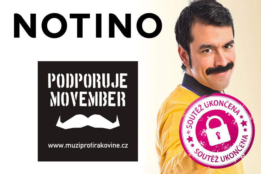 Notino podporuje Movember – pěstujte kníry spolu s námi. A třeba vyhrajete…