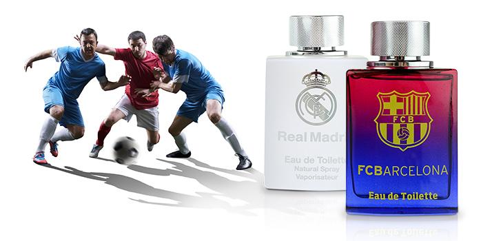 perfumy i piłka nożna