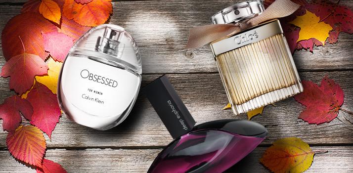 podzimní parfémy