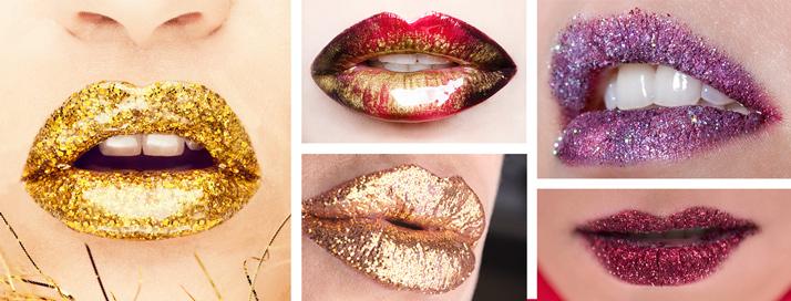 Glitter lips / bleščeče ustnice