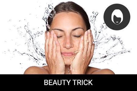 Je dobré si mýt obličej jen jednou denně?