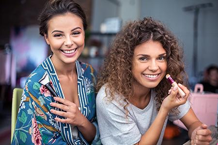 Make-up triky pro věčné posouvače budíků