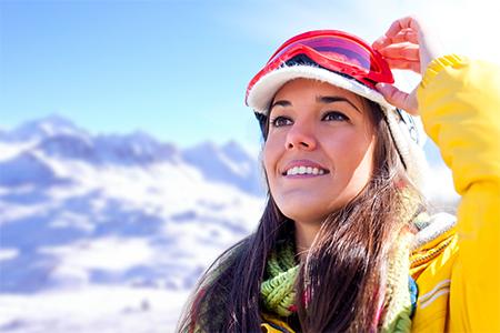 Krásná i na horách: Tipy na voděodolný make-up na zimu