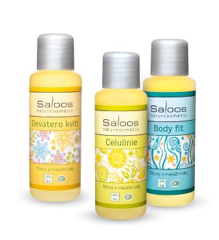 Saloos Bio tělové a masážní oleje
