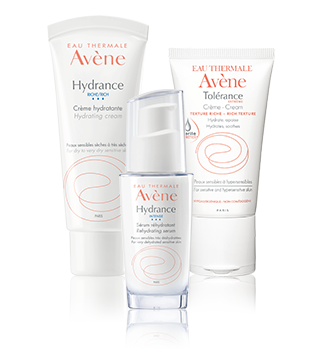 Hydratace citlivé a přecitlivělé pleti Avène