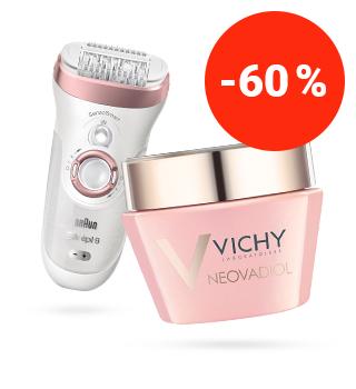 bis zu -60% auf beste Kosmetik