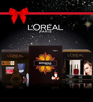 L'Oréal Paris exkluzivní vánoční balíčky