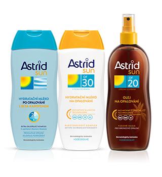 Sluneční kosmetika Astrid