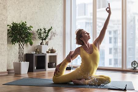 Aroma jóga aneb Když vás vůně podporují ve cvičení